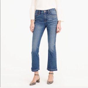 J. Crew Billie Demi Boot Crop Jeans 30